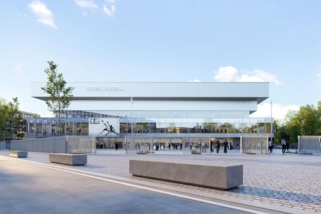 La future Arena de Reims